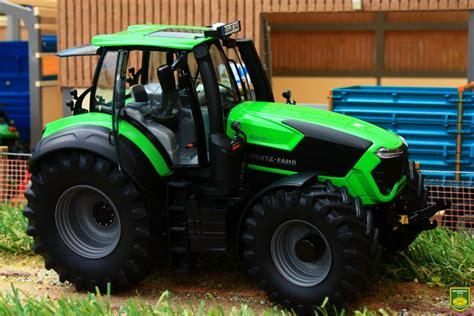 brushwood toys sch schuco deutz fahr  ttv tractor