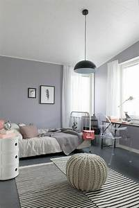 Idees Deco Chambre : la chambre moderne ado 61 int rieurs pour filles et pour gar ons ~ Melissatoandfro.com Idées de Décoration