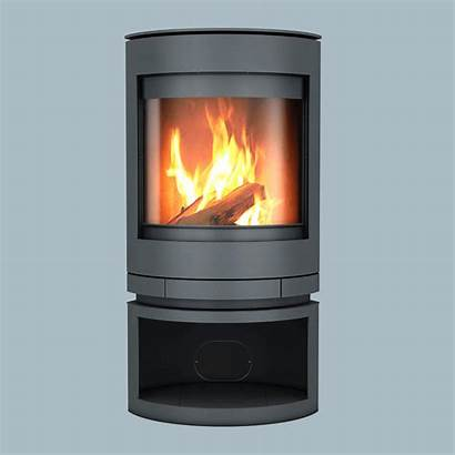 Wood Emotion Combustion Slow Stove Oblica Rotating