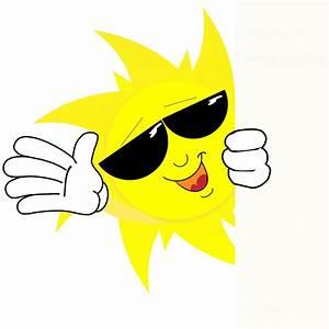 Happy Sun Face Cartoon Free Stock Photo - Public Domain ...