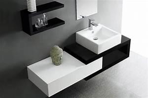 meuble salle de bain simple vasque design carmen With salle de bain design avec meuble de vasque salle de bain