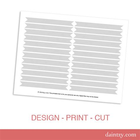 strawman template straw flag printable template diy make your own drink flags template by daintzy