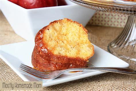 Cake Mix Caramel Apple Cake Mostly Homemade Mom