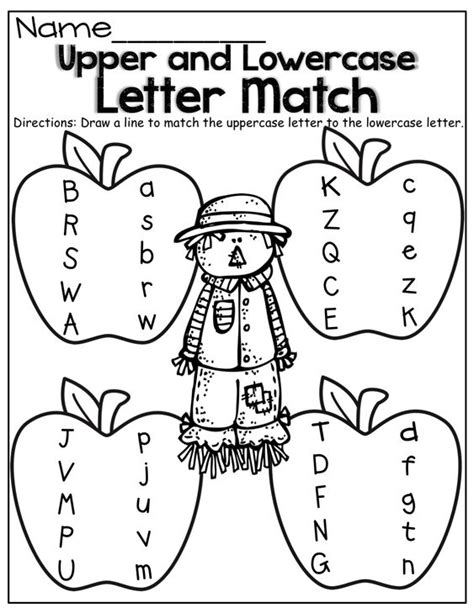 Upper And Lowercase Letter Match!  Kinderland Collaborative  Pinterest  Upper And Lowercase