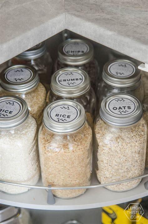 kitchen storage labels 15 creative inexpensive jar kitchen storage ideas 3160