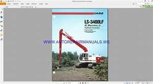 Link Belt Ls 3400lf Series Ii Hydraulic Excavator Shop