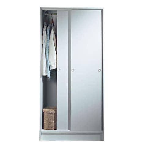 armoire 2 portes coulissantes villar 233 al blanc