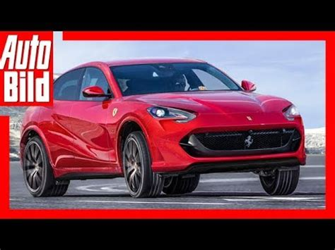 It looks like the new suv (or 'ferrari utility vehicle' as the ceo abhors the term suv) is targeted for the east asia and china which may account for up the ferrari company, which split from parent fiat chrysler automotive nv in 2016, also plans on ramping up the production of hybrid vehicles by 2019. Zukunftsaussicht: Ferrari SUV (2019) Details - Erkärung - YouTube
