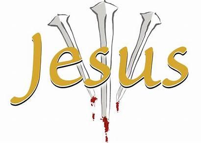 Jesus Clipart Nails Blood Three Crucifixion God