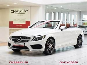Mercedes Classe C Cabriolet Occasion : mercedes classe c cabriolet a205 250 d 204 ch sportline 9g tronic cabriolet blanc occasion 54 ~ Gottalentnigeria.com Avis de Voitures