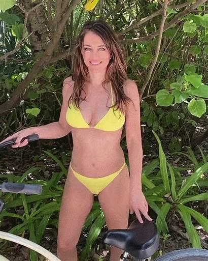 Hurley Elizabeth Bikini Bike Liz Tiny Yellow