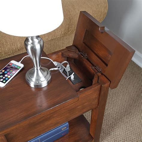 end tables with built in outlets 129 best ideas about power communication data systems