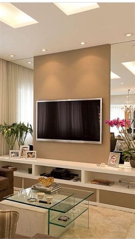 modern contemporary living room ideas painel para tv com espelhos nas laterais kzablog casa