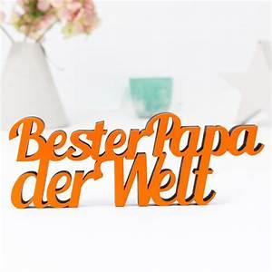 Bester Schließzylinder Der Welt : dekoschriftzug bester papa der welt ~ Buech-reservation.com Haus und Dekorationen