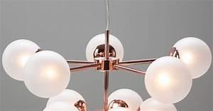 Made Com : globe chandelier copper frosted glass ~ Orissabook.com Haus und Dekorationen