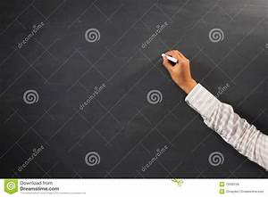 Hand Of Teacher Holding Chalk Stock Photo - Image: 15590136