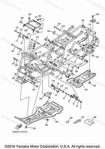 Yamaha Atv 2007 Oem Parts Diagram For Frame