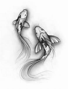 koi fish drawings   koi fish sketch by ~denxio on ...