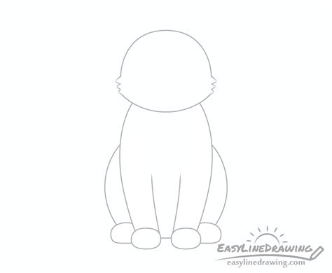 draw  cat step  step easylinedrawing