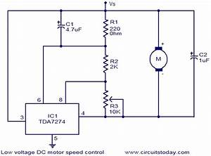 Schematic Diagram Of Dc Motor