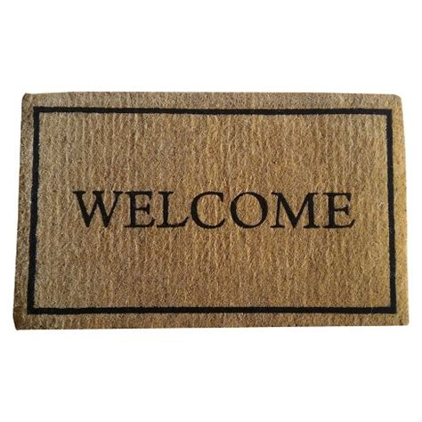college doormats coir welcome doormat smith hawken target