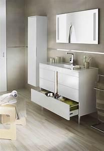 armoire de salle de bain avec miroir lapeyre armoire With eclairage miroir salle de bain lapeyre