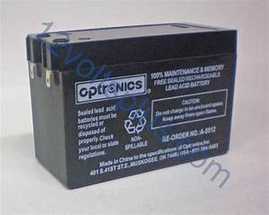 Batterie 12 Volts : a5512 12 volt 2 8 amp battery qr series 12 volts plus ~ Farleysfitness.com Idées de Décoration