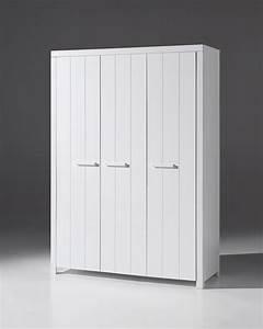 Kleiderschrank Weiß 200 Cm : jugendzimmer erik bett 90x200 cm nachttisch und kleiderschrank mit 3 t ren weiss ebay ~ Bigdaddyawards.com Haus und Dekorationen