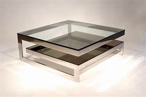 mesmerizing mirrored coffee table for your living room With contemporary glass coffee tables uk