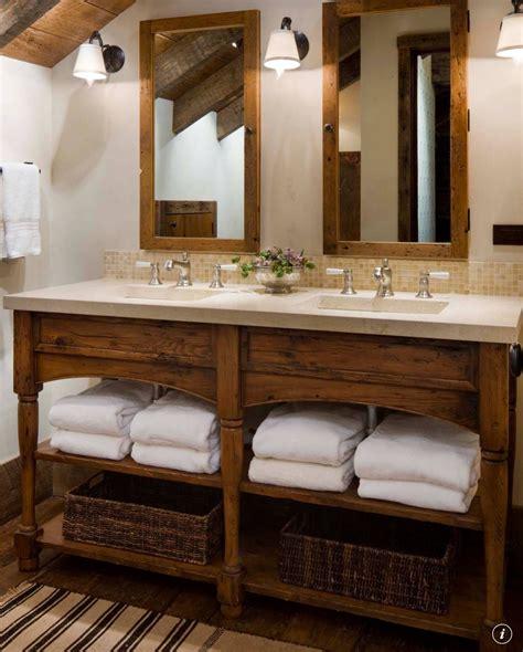 Spa Like Bathroom Vanities by Vanity Decorating Ideas Rustic Bathroom Designs