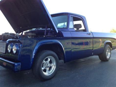 find   dodge  pickup hotrod restored  mopar