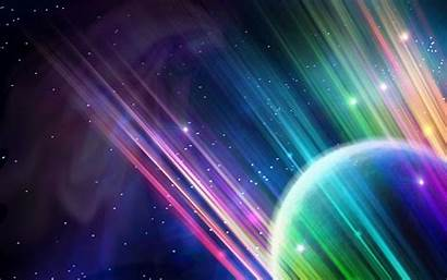 Space Scene Surreal Colourful Wallpapers