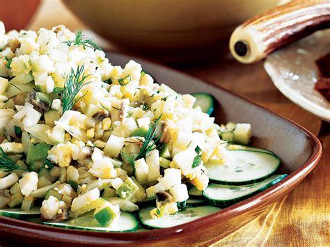 apple herring mayor salad randy main