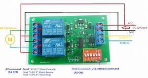 2019 Dc 12v 2 Ch Rs485 Relay Board Uart Serial Port Switch