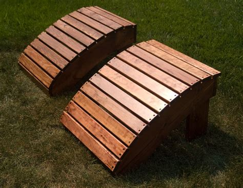 woodwork adirondack footstool only plans pdf free