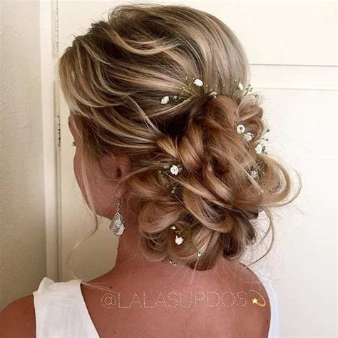 romantic wedding hairstyles  long hair stayglam