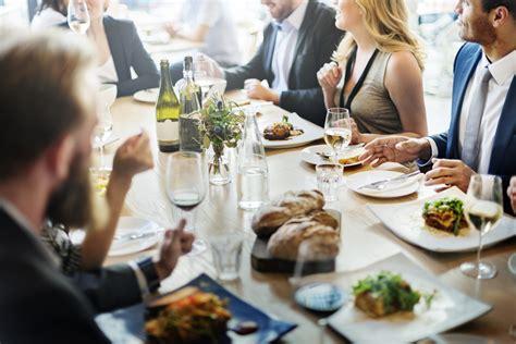 business dining etiquette de burgh group