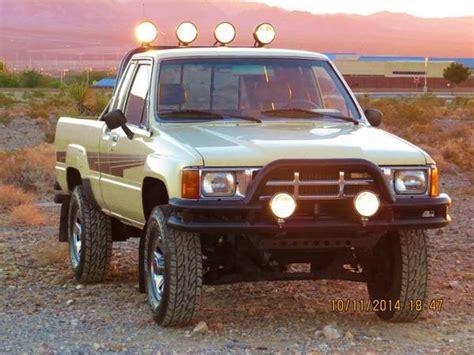 1986 Toyota Sr5 4×4 Pick-up