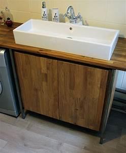 Plan Vasque Bois : plan de vasque sur mesure le blog du bois ~ Teatrodelosmanantiales.com Idées de Décoration