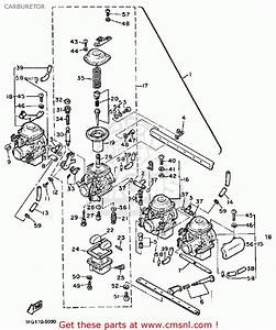 Yamaha Xj700 Maxim 1985  F  Usa Carburetor