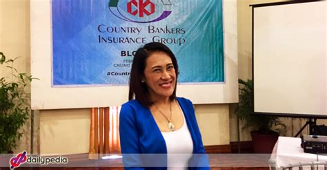 If the premium payments are made on time, policyholders never have to worry. Ai-Ai Delas Alas makes stronger ties with Country Bankers Life Insurance Corporation - DailyPedia