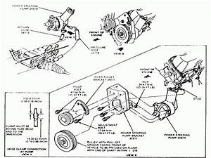 Ford Taurus Power Steering Pump Diagram