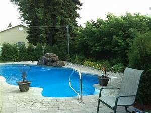 Piscine Avec Cascade : fontaine d 39 eau copal pour piscines et cascade de bassin de ~ Premium-room.com Idées de Décoration