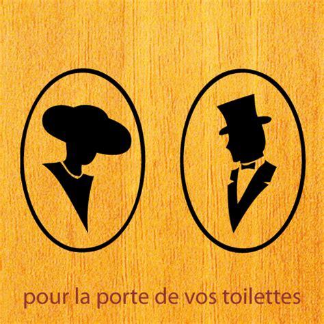 stickers pour la porte des toilettes homme femme pi 232 ces de la maison wc zone sticker