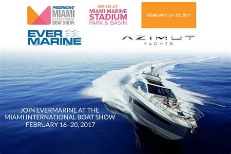 Boat Show 2017 by Miami International Boat Show 2017 Evermarine Yacht