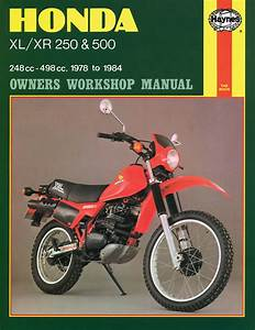 Honda Motorcycle Xr500  1979