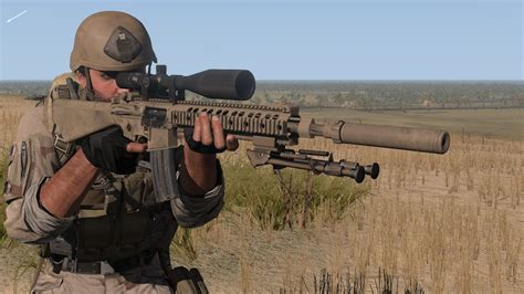 Chris Kyle In Action (with Mk12 Mod 1 Spr) In Arma 3