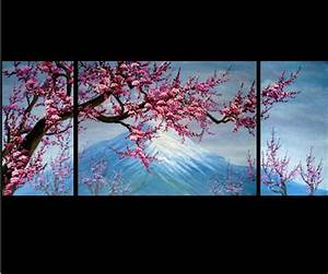 China Cherry Blossom Painting - 2 - China feng shui ...