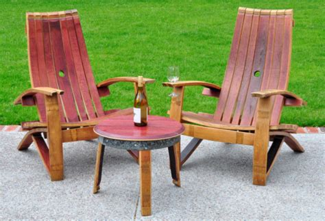 wine barrel adirondack chair aftcra