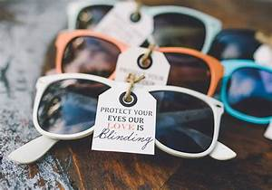Summer ohio wedding inspiration wedding inspiration for Sunglasses for wedding favors